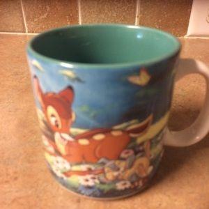 Vintage Disney Bambi coffee mug